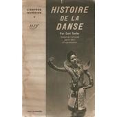 Histoire De La Danse de SACHS, CURT