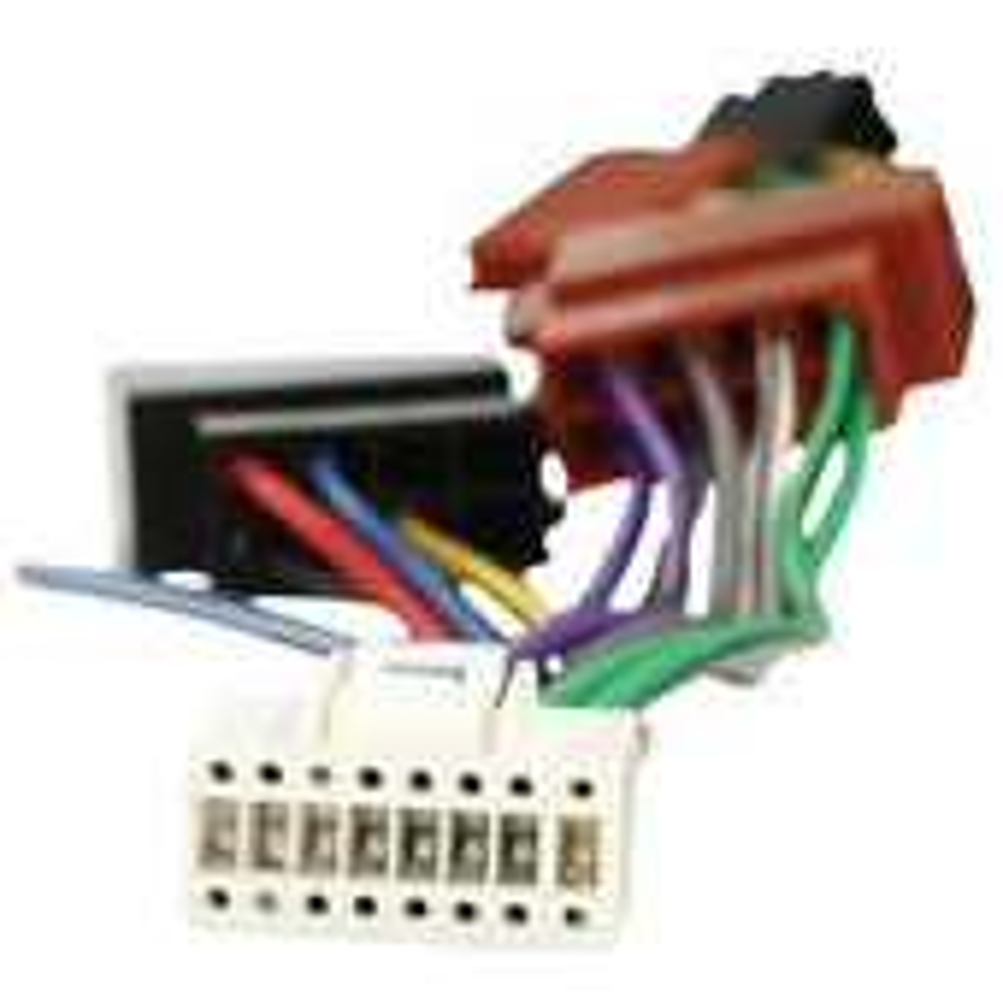 C�ble Adaptateur ISO Pour Autoradio Alpine 16 Pins Noir