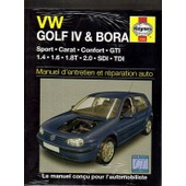 Revue Technique Automobile N� 4366 : Golf 4 Et Bora