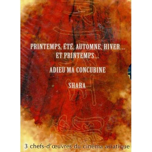 Coffret ciné Asie : Adieu ma concubine / Printemps été / Shara - Coffret 3 DVD