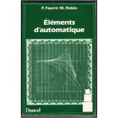 �l�ments D'automatique de Pierre Faurre