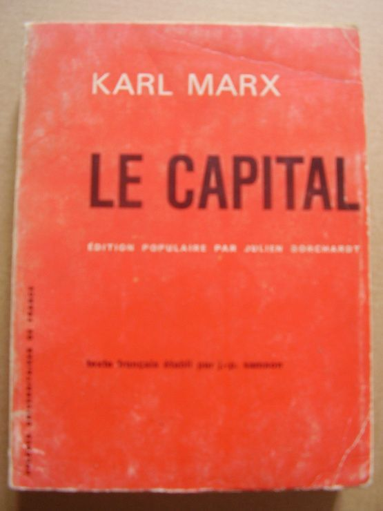 Le capital, édition populaire - Presses Universitaires de France - PUF - 01/09/1970