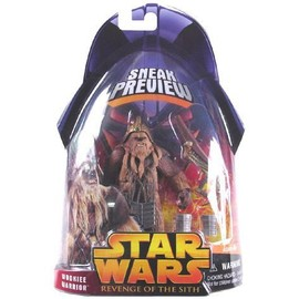 Star Wars Episode 3, Revenge Of The Sith - Sneak Preview Wookie Warrior Action Figure.
