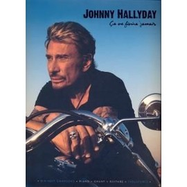 Hallyday Johnny : ça ne finira jamais (chant +piano+accords)