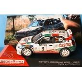 Toyota Corolla Wrc 1999 Rallye Finlande Sainz Moya 1/43 Ixo