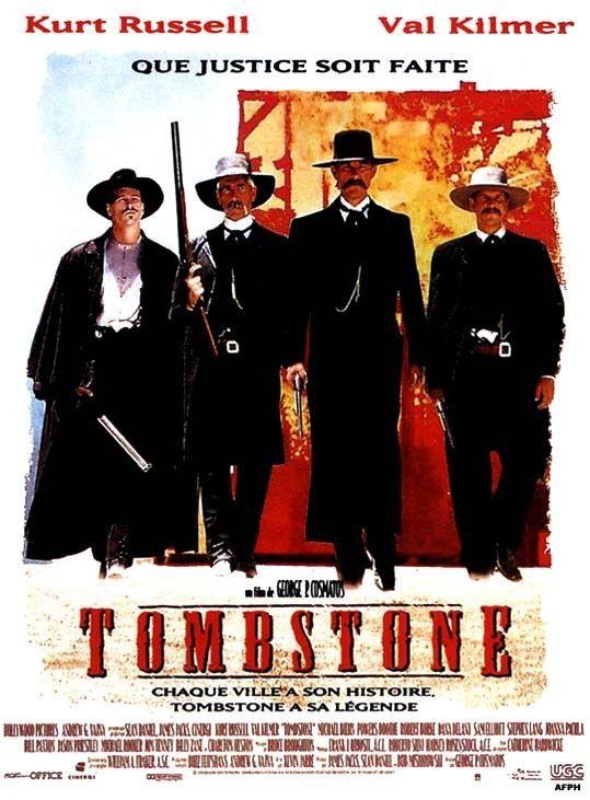 Tombstone affiche de cinéma
