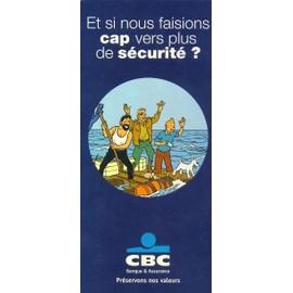 Tintin - D�pliant Publicitaire Cbc Banque N� 0