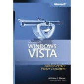 Microsoft Windows Vista Administrator's Pocket Consultant de R. Stanek, William