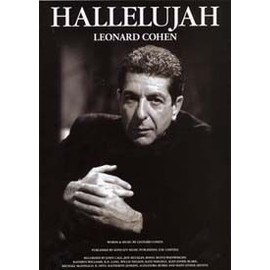 Hallelujah (Leonard Cohen) - chant + piano + accords