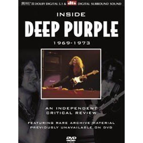 INSIDE DEEP PURPLE 1969 - 1973 AN INDEPENDANT CRITICAL REVIEW (DVD)
