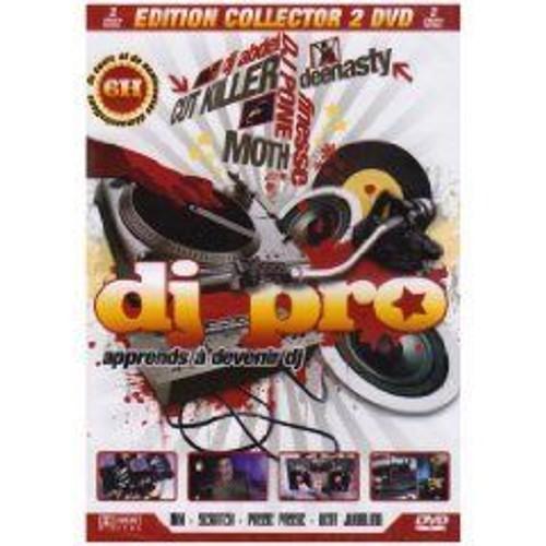 DJ PRO: APPRENDS A DEVENIR DJ  (COFFRET DE 2 DVD)
