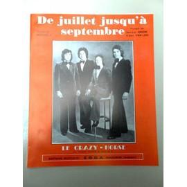 """Partition """"De juillet jusqu'à Septembre"""" (Crazy Horse)"""