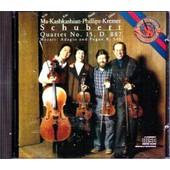 Schubert-Mozart :Quatuors - Kremer.-Philipss.-Kashkashian.-Yo Yo Ma.