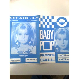 "Partitions ""Baby Bop"" (Serge Gainsbourg) + ""Cet air-là"" (France Gall)"