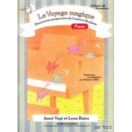 Vogt : voyage magique niveau 3B piano (+ 1cd)
