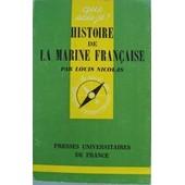 Histoire De La Marine Fran�aise de louis nicolas