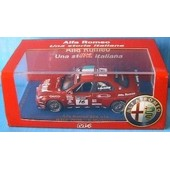 Alfa Romeo 156 Gta Wtcc 2006 Morbidelli M4 1/43 Rosso
