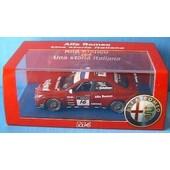 Alfa Romeo 156 Gta Wtcc 2007 Tielemans M4 1/43 Rosso Nl
