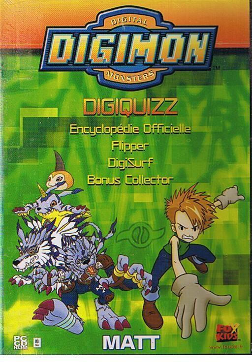 """Digimon Digiquizz Flipper """"Matt"""""""