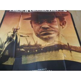 affiche du film FRENCH CONNECTION avec Gene HACKMAN format 1,60mX1,17m