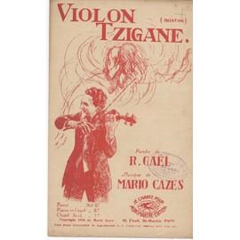 Violon tzigane (Boston) - Chant seul - 1924