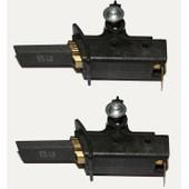 Jeu de 2 charbons pour moteurs Selni sur machine � laver Brandt Vedette Thomson