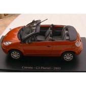Citroen C3 Pluriel 2003 Universal Hobbies Orange 1/43
