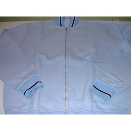 Veste Le Coq Sportif Vintage Bleu Ciel