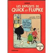 Les Exploits De Quick Et Flupke-Recueil 3 de herg�