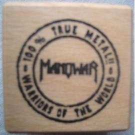 Manowar - Warriors Of The World, 100% True Metal !! Ink pad