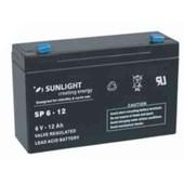 Sunlight Sp6-12 - Batterie Plomb �tanche Agm Vrla 6v 12ah