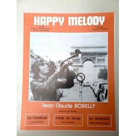 "Partition ""Happy Melody"" (Jean-Claude Borelly/François Valéry)"