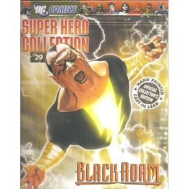 D.C. Comics / Dc Comics Super Hero Collection ( Magazine Vendu Seul, Sans La Figurine !! ) N� 29 : Black Adam