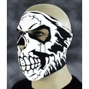 "Cagoule En Neoprene ""Electric Skull"" Nouveaute 2009 !!! Airsoft / Moto / Paintball"