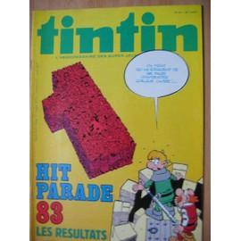 Tintin N� 417 : Hit Parade 83 Les R�sultats