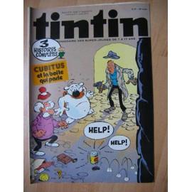 Tintin N� 401 : Tintin, Le Journal Tintin N� 401 Du 17/05/1983