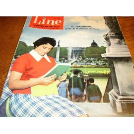 Line Point Tintin Le Journal Des Chics Filles N� 290 : Le Luxembourg Jardin De La Jeunesse Studieuse