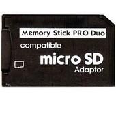 Adaptateur De Carte M�moire Micro Sd Vers Memory Stick Pro Duo