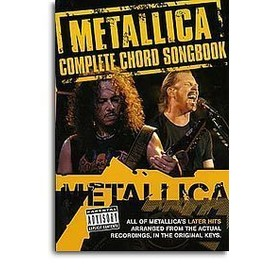Metallica Complete Chord Songbook (Yellow)