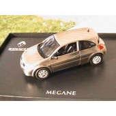 Renault Megane Ii Coupee Traitement Metal Norev 1/43 Chrome