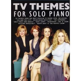 TV themes for solo piano - Wise