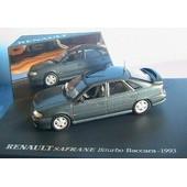 Renault Safrane Biturbo Baccara 1993 Gris Fonce Metal 1/43 Universal Hobbies