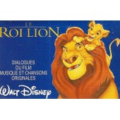 Claude Brasseur - K7 Audio - Le Roi Lion - Walt Disney