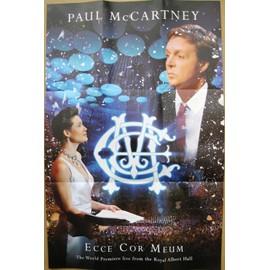 PAUL McCARTNEY POSTER ORIGINAL ECCE COR MEUM 54X35 CM