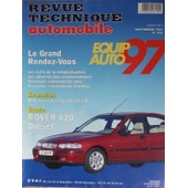Revue Technique Automobile N� 598 : Equip Auto 97