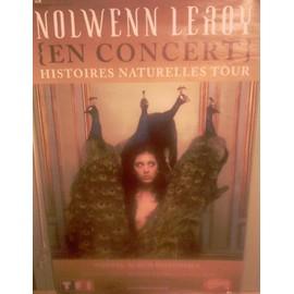 """Affiche 80x120 Nolwenn Leroy - Tournée """"Histoires Naturelles Tour 2006"""""""