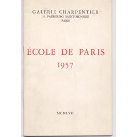 Galerie Charpentier N� 0 : Ecole De Paris 1957