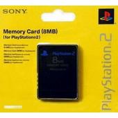 Carte M�moire 8 Mo Officielle Sony Playstation 2 (Scph-1020e)