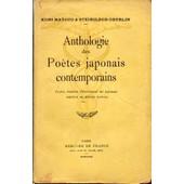 Anthologie Des Po�tes Japonais Contemporains de Matsuo, Kuni