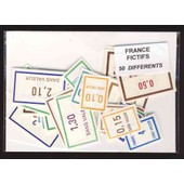 France Fictifs 50 Timbres De Collection Diff�rents